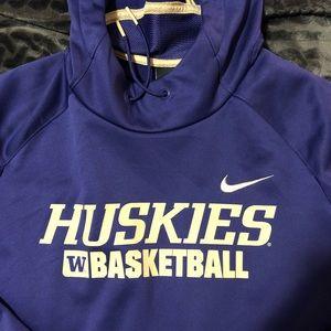 Nike Shirts - University of Washington Huskies Therma fit hoodie